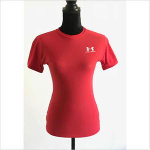 Under Armour Short Sleeve Athletic Work Out Shirt